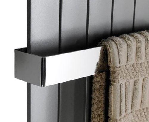 Sapho COLONNA držák ručníků 450x74mm, leštěný nerez