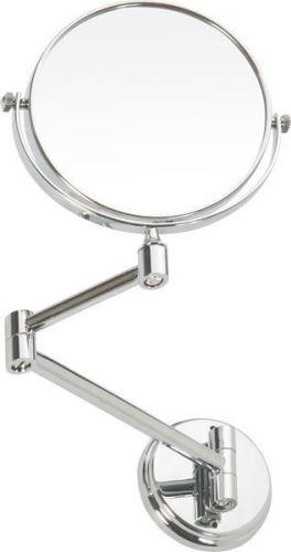 Sapho X-ROUND E závěsné kosmetické zrcátko průměr 150mm, chrom