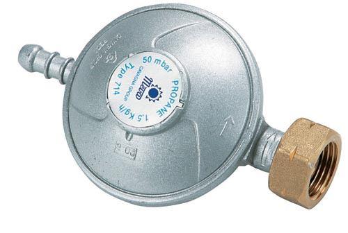 MEVA Regulátor tlaku na propan-butan - trn -50 mbar (NP01034)