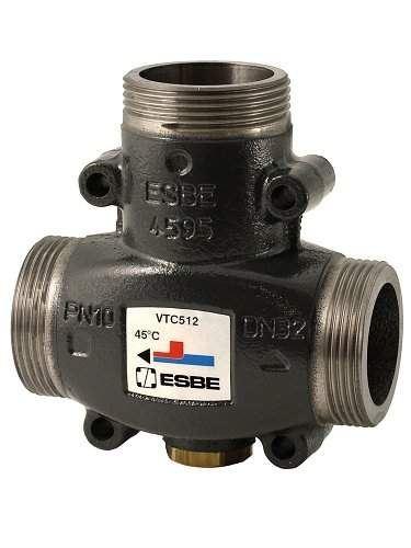 ESBE Termostatický ventil VTC512/60 °C, 1 1/2´´, DN 32 (51022200)