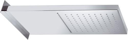 Sapho Hlavová sprcha s kaskádou, 500x200x30mm, leštěný nerez