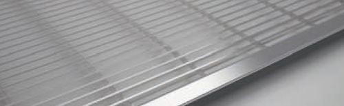 KORADO krycí mřížka KORAFLEX PM, 20 x 200 cm, nerez aisi 304