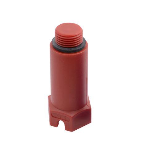 PPR Zátka tlaková dlouhá, červená