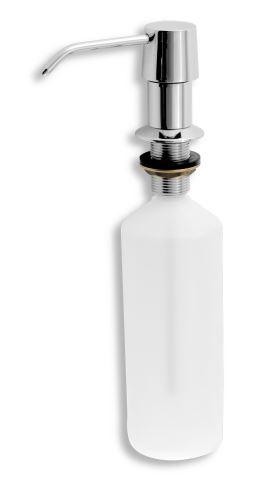NOVASERVIS Dávkovač prostředku na mytí nádobí, objem 500 ml chrom (69037,0)
