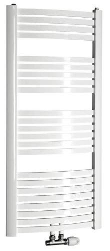 Aqualine STING Otopné těleso 650x1237 mm, středové připojení, 679 W, bílá