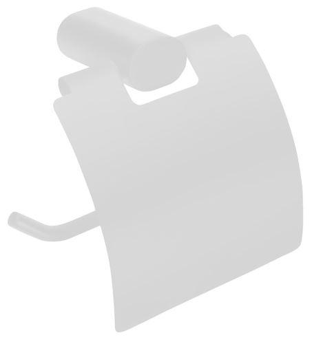 Sapho FLORI držák toaletního papíru s krytem, bílá mat