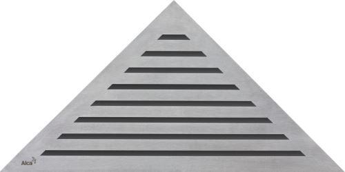 ALCAPLAST Rošt pro rohový sprchový žlab - nerez mat (LIFE)