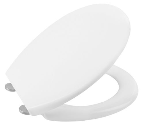 Sapho ADINA WC sedátko Soft Close, duroplast, bílá