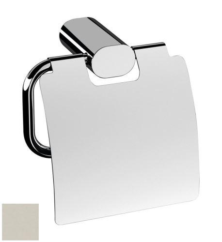 Sapho FLORI držák toaletního papíru s krytem, nikl