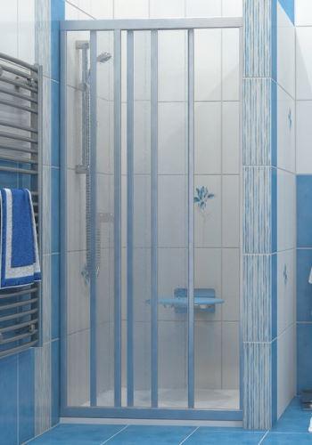 RAVAK Sprchové dveře ASDP3 90 pearl, satinový rám - 00V70U0211