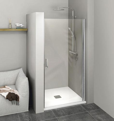 Polysan ZOOM LINE sprchové dveře 700mm, čiré sklo