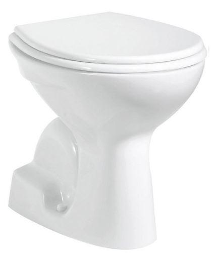 Aqualine WC mísa samostatně stojící 36x54cm, spodní odpad, bílá