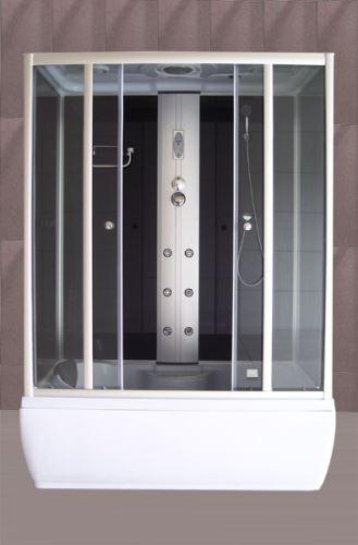 ROLTECHNIK SANIPRO masážní box GENT BLACK 1500X850x2150