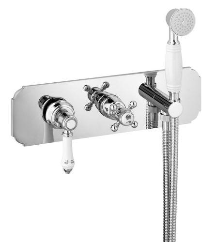 Sapho VIENNA podomítková sprchová baterie s ruční sprchou, 2 výstupy, chrom