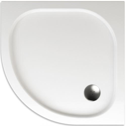 TEIKO Sprchová vanička čtvrtkruhová hladká CAPELLA 80 (V131080N32T05001)