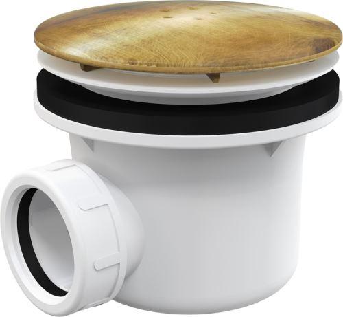 ALCAPLAST Sifon vaničkový kov LUX (A49ANTIC)