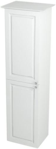Sapho VIOLETA skříňka vysoká 35x140x30cm, levá, bílá pololesk