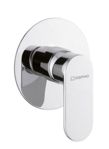 Sapho DANDY podomítková sprchová baterie, 1 výstup, chrom
