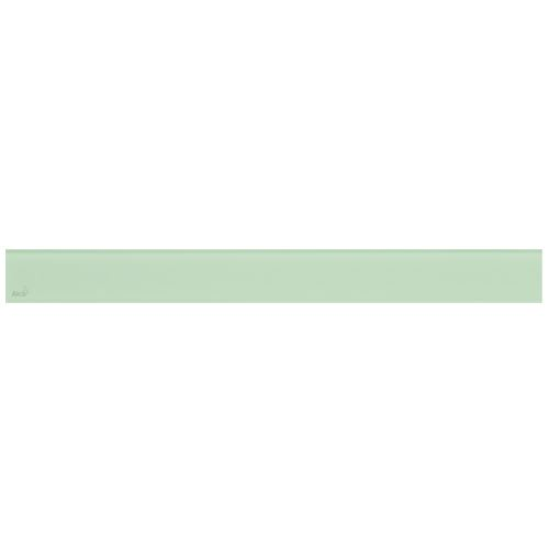 ALCAPLAST GLASS - Designový rošt pro APZ6 - sklo zelené (GL1202-650)
