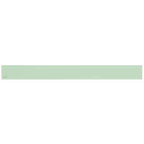 ALCAPLAST GLASS - Designový rošt pro APZ6 - sklo zelené (GL1202-750)