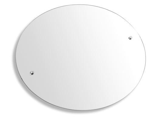 NOVASERVIS Zrcadlo ovál 60 x 50 cm Metalia 3 (6317)