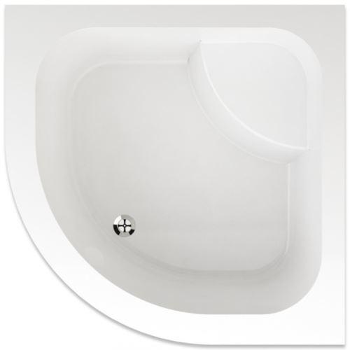 TEIKO Sprchová vanička čtvrtkruhová ARGO 90 (V131090N32T08001)