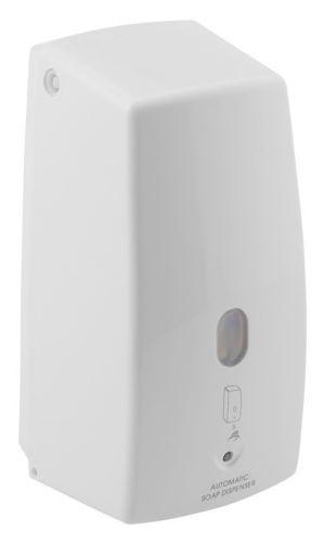 AQUALINE Bezdotykový dávkovač tekutého mýdla 500 ml, bílá (2090)