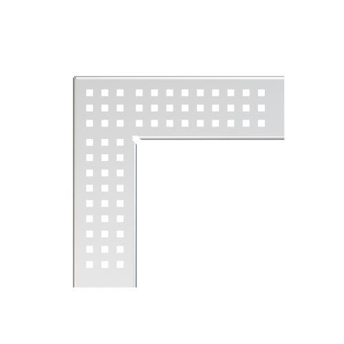 ALCAPLAST Rošt pro drenážní žlab rohový 75 mm, nerez (ADZ-R303R)