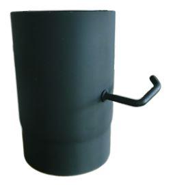 Trubka kouřová s klapkou 130/250 mm, plech 1.5