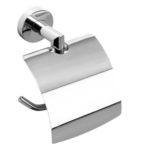 Sapho X-ROUND držák toaletního papíru s krytem, chrom