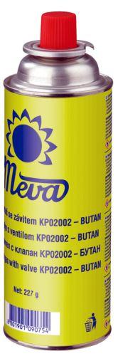 MEVA Kartuše BUTANGAS 227 g – ventil, butan (KP02002)