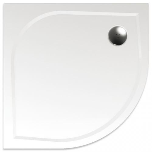 TEIKO Sprchová vanička čtvrtkruhová, R55, VIRGO 80 (Z139080N96T51001)