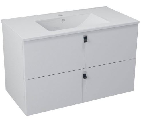 Sapho MITRA umyvadlová skříňka 89,5x55x45,2 cm, bílá