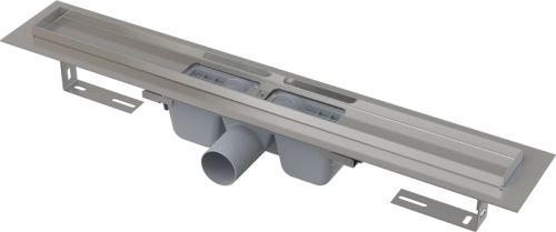 ALCAPLAST APZ1-750 Podlahový žlab s okrajem pro perforovaný rošt