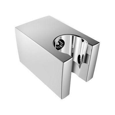 Aqualine Pevný držák sprchy, hranatý, 57mm, ABS/chrom