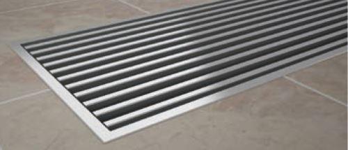 KORADO krycí mřížka KORAFLEX PM, 28 x 220 cm, roll, nerez aisi 304