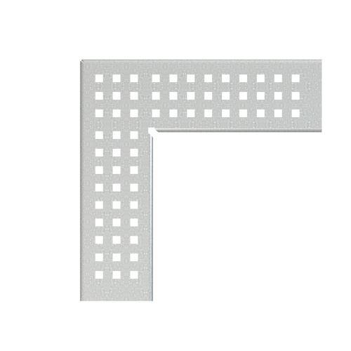 ALCAPLAST Rošt pro drenážní žlab rohový 100 mm, pozinkovaná ocel (ADZ-R123R)