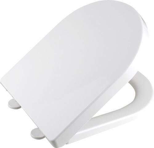 Aqualine DONA WC sedátko polypropylen, soft close, bílá