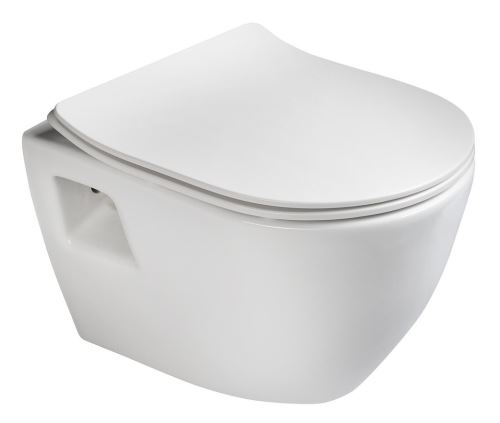 Sapho PAULA WC závěsné 35,5x50cm, bílá