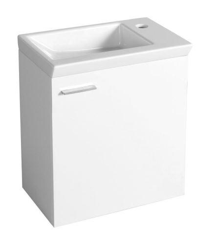 Aqualine ZOJA umyvadlová skříňka 44x50x23,5cm, bílá
