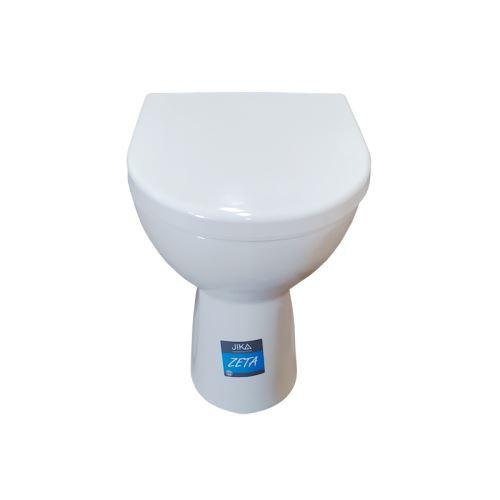 JIKA WC stojící klozet ZETA - vodorovný odpad