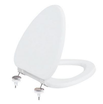 Sapho KID WC sedátko duroplast, kovové panty, bílá (KC3041)