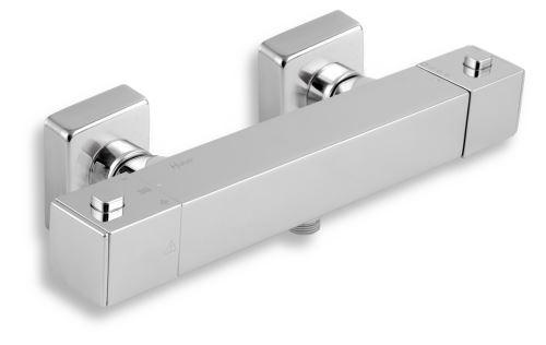 NOVASERVIS Sprchová termostatická baterie 150mm bez příslušenství chrom (2860/1,0)