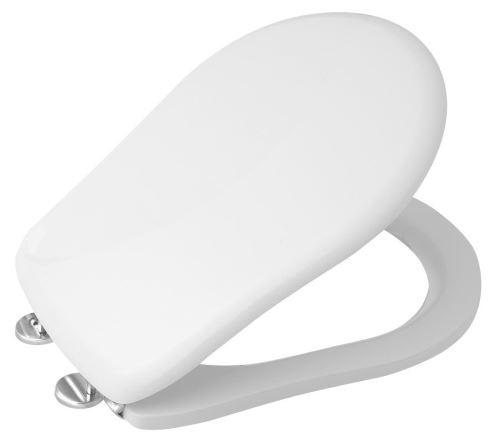 Kerasan RETRO WC sedátko, polyester, bílá/chrom