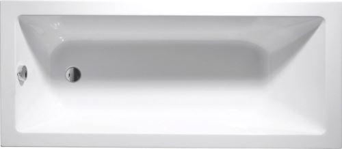 Aqualine DOUBRAVA obdélníková vana 160x70x42cm, bílá