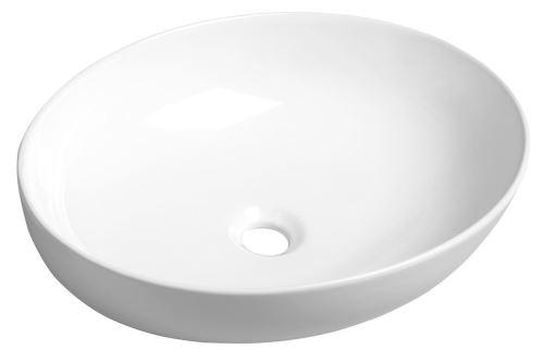 Sapho OFELIE keramické umyvadlo 52x13x40 cm, na desku