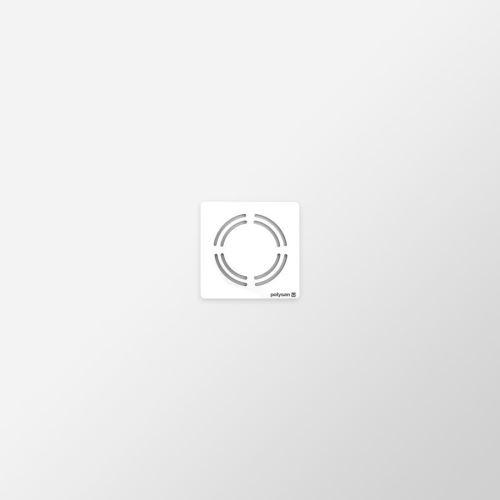 Polysan FLEXIA vanička z litého mramoru s možností úpravy rozměru, 90x90x3cm