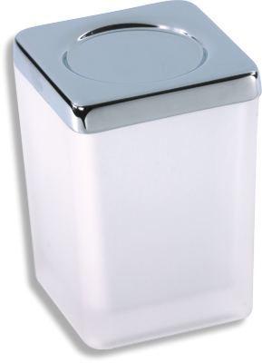 NOVASERVIS Dóza na koupelovou sůl Metalia 4 chrom (6404,0)