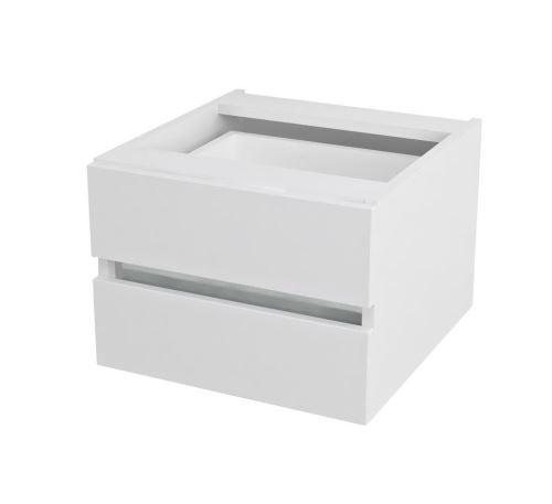 Sapho AVICE 2x zásuvka 45x30x48cm, bílá