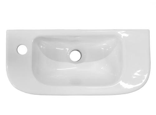 JIKA DEEP Umývátko 50 cm s otvorem vlevo (H8156150001051)